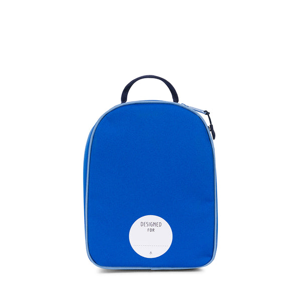 Parkland Rodeo recycled backpack lunch kit blue bird color block Audrey and Olive The Woods SF