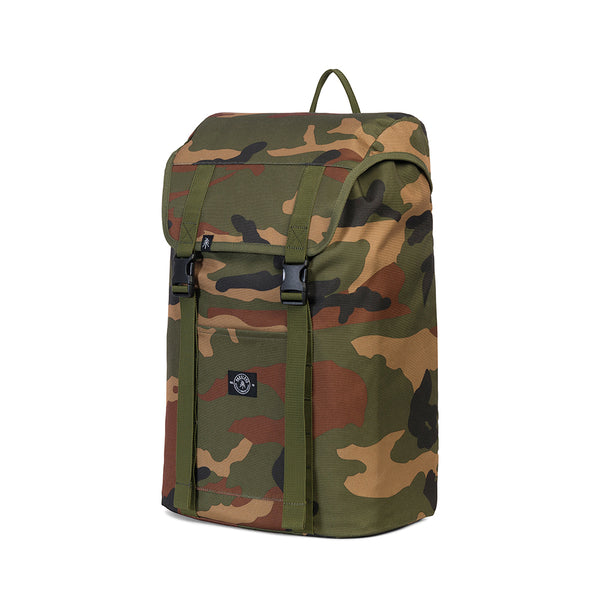 Parkland Wesport recycled backpack mountaineering rucksack camo camouflage Audrey and Olive The Woods SF