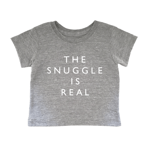 Baby Tee - Snuggle Is Real