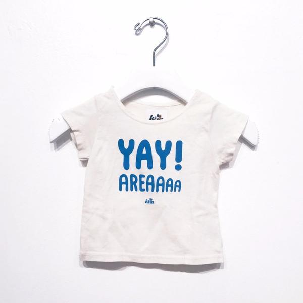 Kira Kids natural white cream yay area tee t-shirt baby babies audrey and olive maternity clothes shop the woods san francisco
