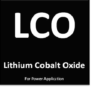 Lithium Cobalt Oxide for Power image LCO