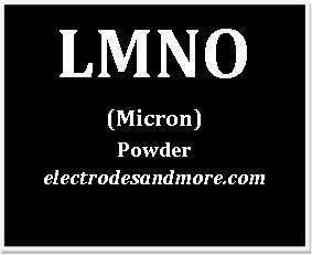 Lithium Manganese Nickel Oxide cathode material