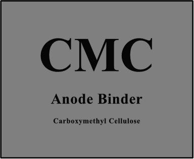 Carboxymethyl Cellulose (CMC) Anode binder for lithium ion batteries