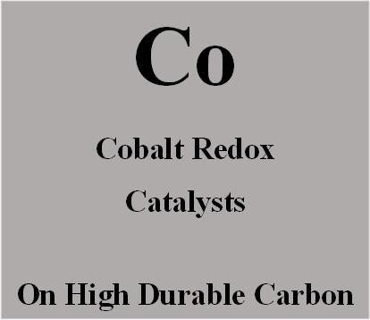 Cobalt Redox Catalysts on high durable carbon for Metal Air batteries