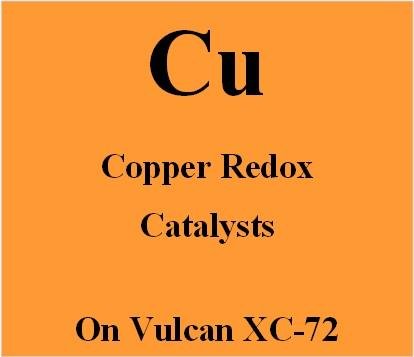 Copper Redox Catalysts on Vulcan XC72 carbon for Metal Air batteries