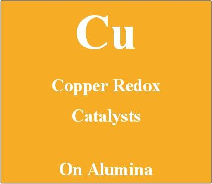 Copper redox catalyst supported on Alumina