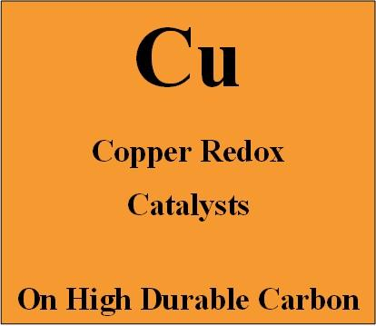 Copper Redox Catalysts on high durable carbon for Metal Air batteries