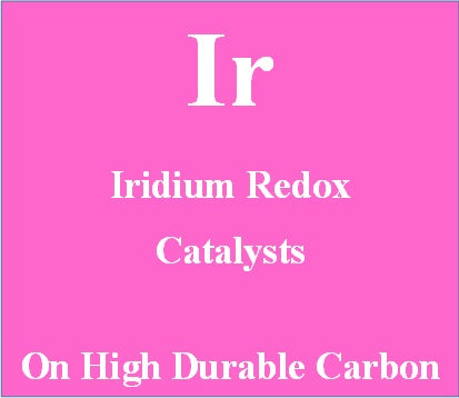Iridium Redox Catalysts on High Durable carbon