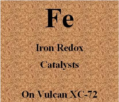 Iron Redox Catalysts on Vulcan XC72 carbon for Metal Air batteries