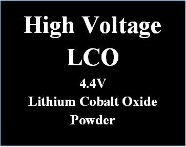 High Voltage Lithium Cobalt Oxide cathode material