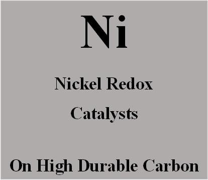 Nickel Redox Catalysts on high durable carbon for Metal Air batteries