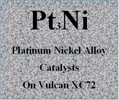 Platinum Nickel Alloy Catalysts Pt-Ni on Vulcan XC72 Carbon