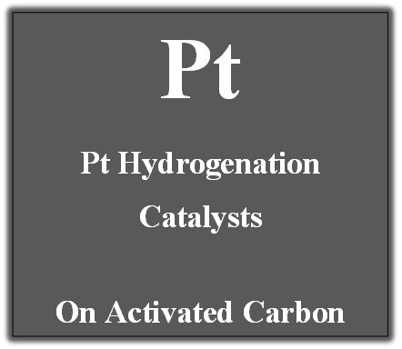 Hydrogenation Catalyst Platinum on Activated Carbon