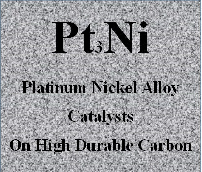 Platinum Nickel Alloy Catalysts Pt-Ni on High Durable Carbon