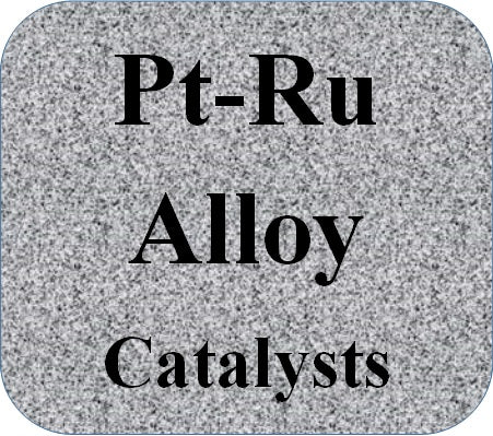 Platinum Ruthenium Alloy Catalysts Pt-Ru on high Surface Area Carbon
