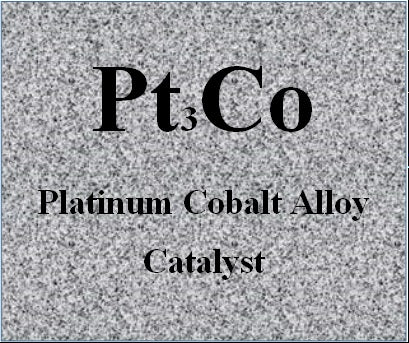 Platinum Cobalt Alloy Catalysts Pt-Co on high Durable Carbon