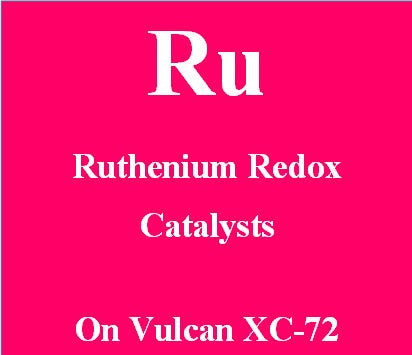 Ruthenium Redox Catalysts on Vulcan XC72 carbon