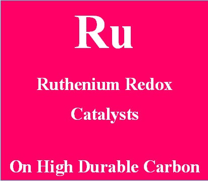 Ruthenium Redox Catalysts on High Durable carbon