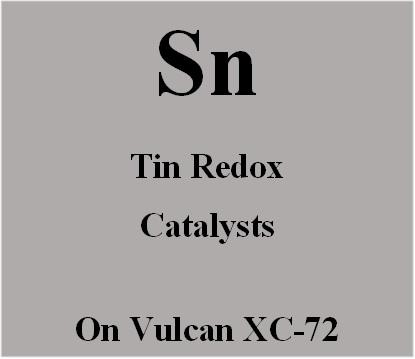 Tin Redox Catalysts on Vulcan XC72 carbon for Metal Air batteries