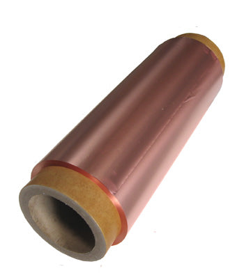 Copper foil for battery anode 130 mm width 9 micron - 16.8 kgs