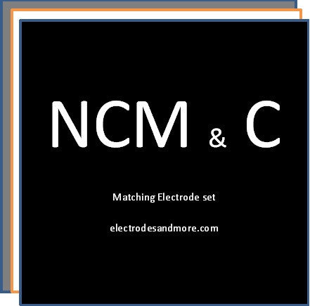 Matched Electrode set NCM (111) cathode and C anode Single sided