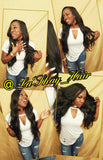 "Virgin Brazilian Loose Wave 18"" 20"" 22"""