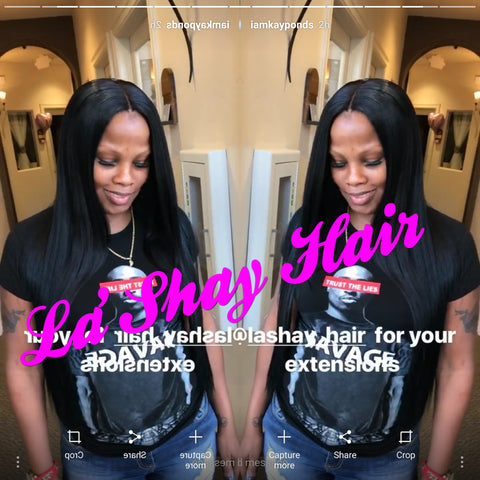 "Virgin Brazilian Hair Straight 16"" 18"" 20"""