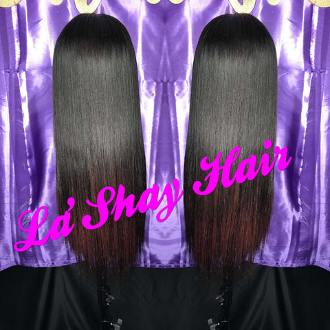 Virgin Brazilian Straight 14""