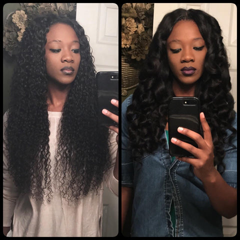 "Virgin Brazilian Curly 28"" 28"" 28"""