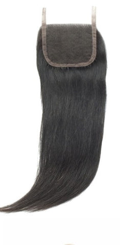 Lace Closure Virgin Brazilian  Straight