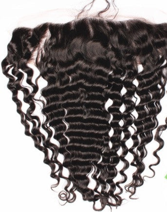 Lace Frontal Virgin Brazilian Curly