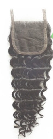 Lace Closure Virgin Brazilian  Curly