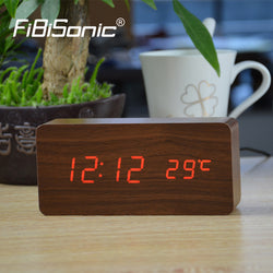 Wooden Led clocks