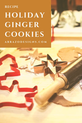 Holiday Ginger Cookies Recipe with Essential Oils