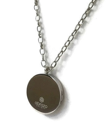 Essential Oil Diffuser Necklace w/ 316L Stainless Steel Locket (Cruz)