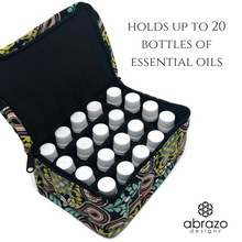 Essential Oil Carrying Case Tote ~ Holds 20 Bottles (5, 10, 15ml) for Storage or Travel