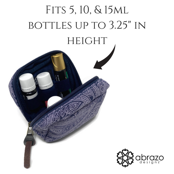 6-bottle Essential Oil Carrying Case
