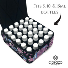 Essential Oil Carrying Case Oil Storage Organizer - Holds 30 Bottles (15, 10 or 15ml)