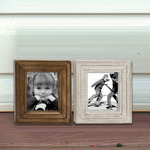 Chic Wood Photo Frame 2 Assorted