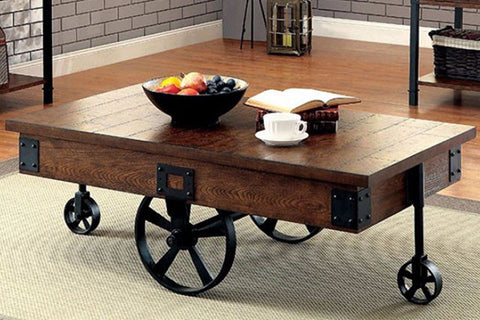 Paige industrial coffee table
