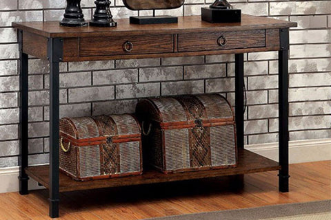 Paige industrial sofa table