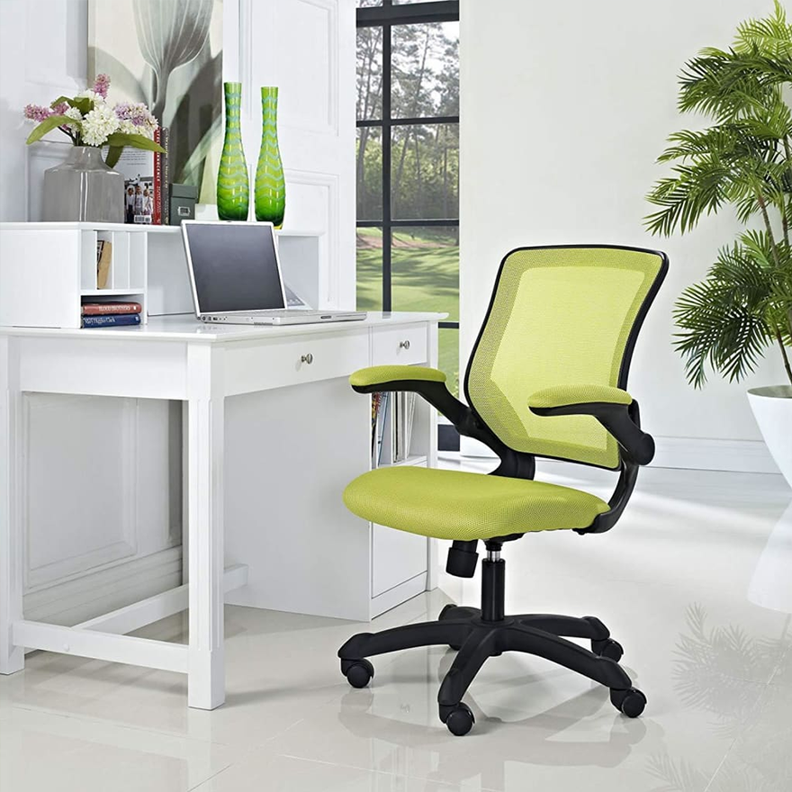 Veer Office Chair with Mesh Back and Vinyl Seat