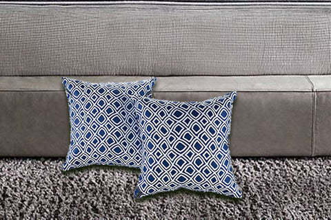 Two Piece Outdoor Patio Pillow Set