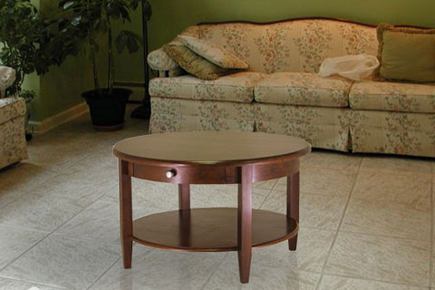 Antique Round Concord Coffee Table