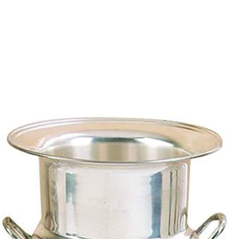 Silver Plated Brass Wine Bucket-Benzara