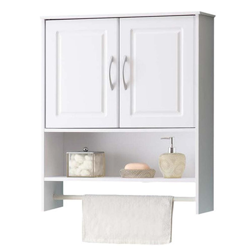 4D Concepts Classy and Unique Bathroom 2 Door Wall Cabinet 4DC-76420