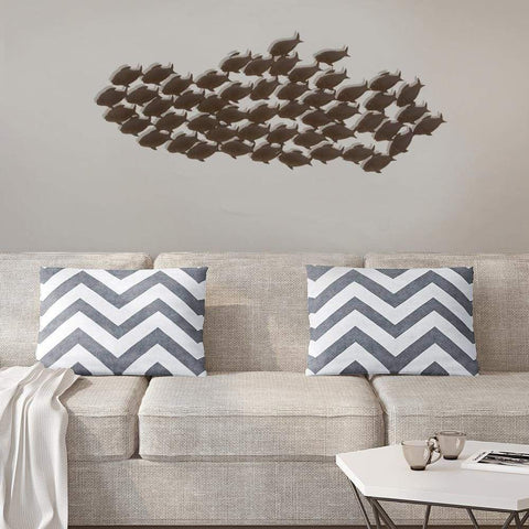 Metal Wall Decor, 29-Inch, Just Have a Look By Benzara