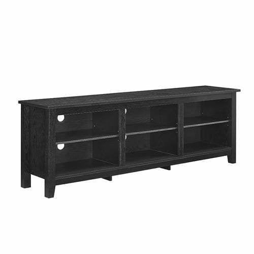 "70"" Essentials TV Stand - Black"