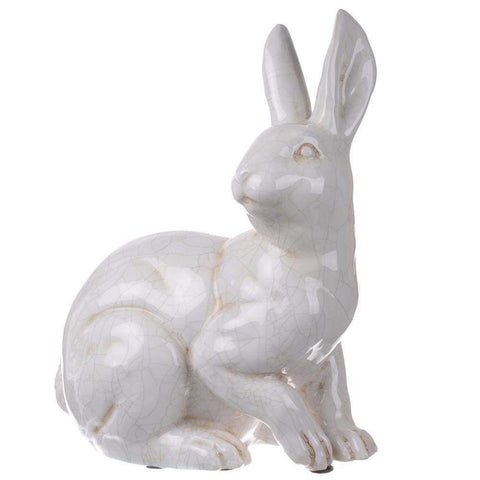 Hector Long-Eared Rabbit Statuette, Alert 2EA/CTN
