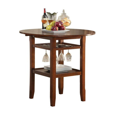 Smart Looking Counter Height Table, Cherry